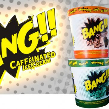 Bang!! Caffeinated Ice Cream