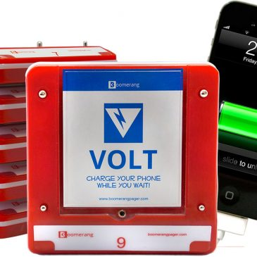 Boomerang Volt Pager and Cell Charger